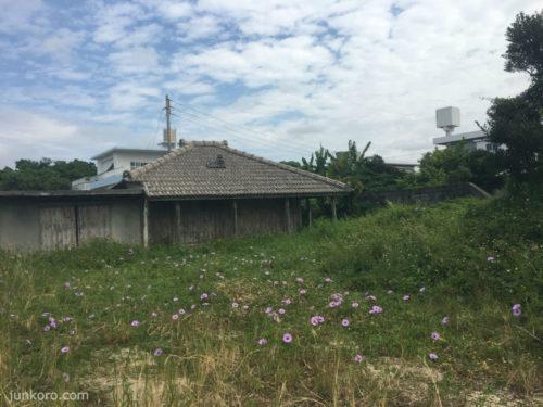 沖縄の風景 家