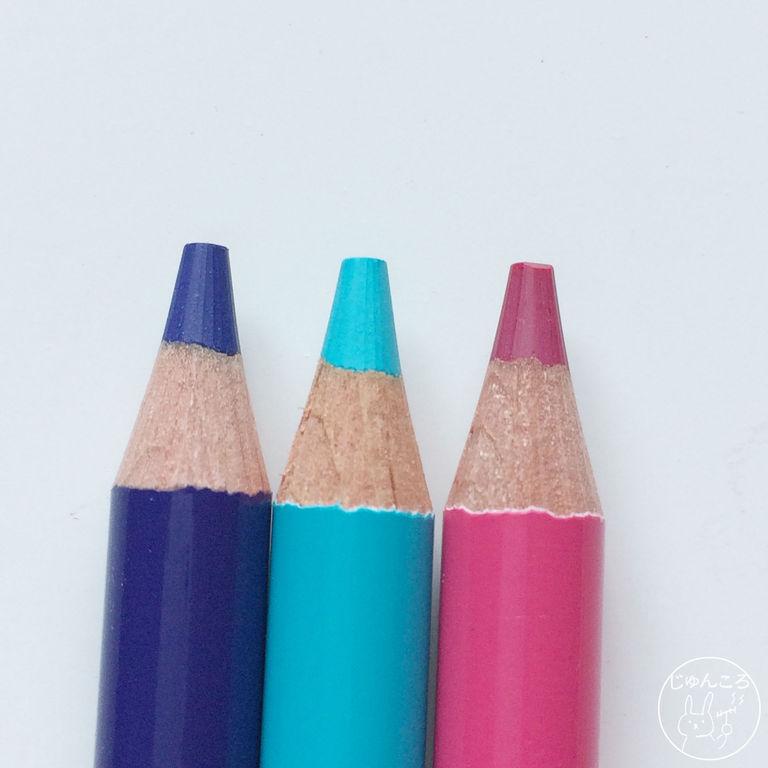 色鉛筆の先端