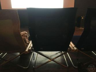 A列の椅子
